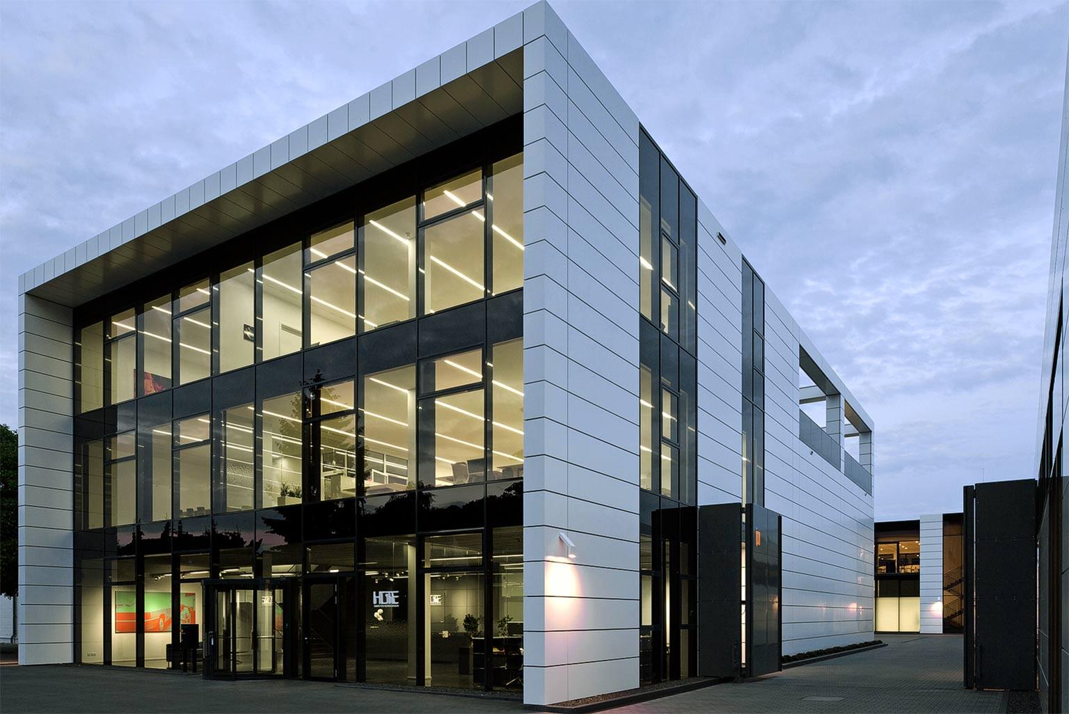 Der HOTE-Bürokomplex